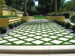 artificial grass for patios